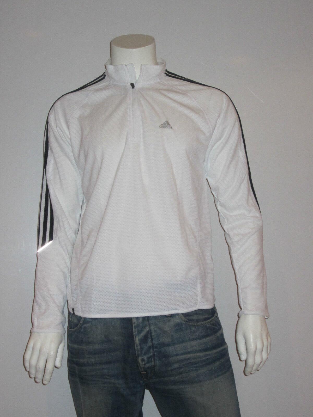 Adidas Response Zip Shirt [Size XL] MEN'S RUNNING SHIRT FITNESS TRAINING NIP