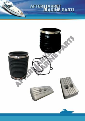 3888916 3841481 22197130 3889788 Volvo Penta SX-A DPS-A bellows /& anode kit rpl