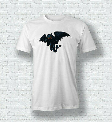 How To Train Your Dragon Night Fury Toothless Men Woman Boys Girls TShirt