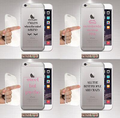 Cover per,Iphone,silicone,morbido,FRASI,TRASPARENTE,TESTO,MEAN GIRLS,DELICATO   eBay