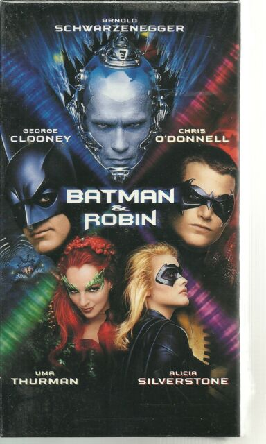 Batman & Robin (VHS, 1997) NEW FACTORY SEALED ARNOLD GEORGE CLOONEY NOS NIP
