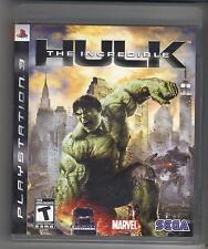 THE INCREDIBLE HULK PS3 PLAYSTATION 3