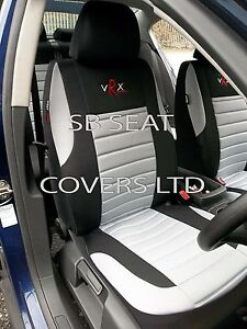 i - SEMI FIT A LEXUS RX CAR, SEAT COVERS, GREY VRX SPORTS, FULL SET