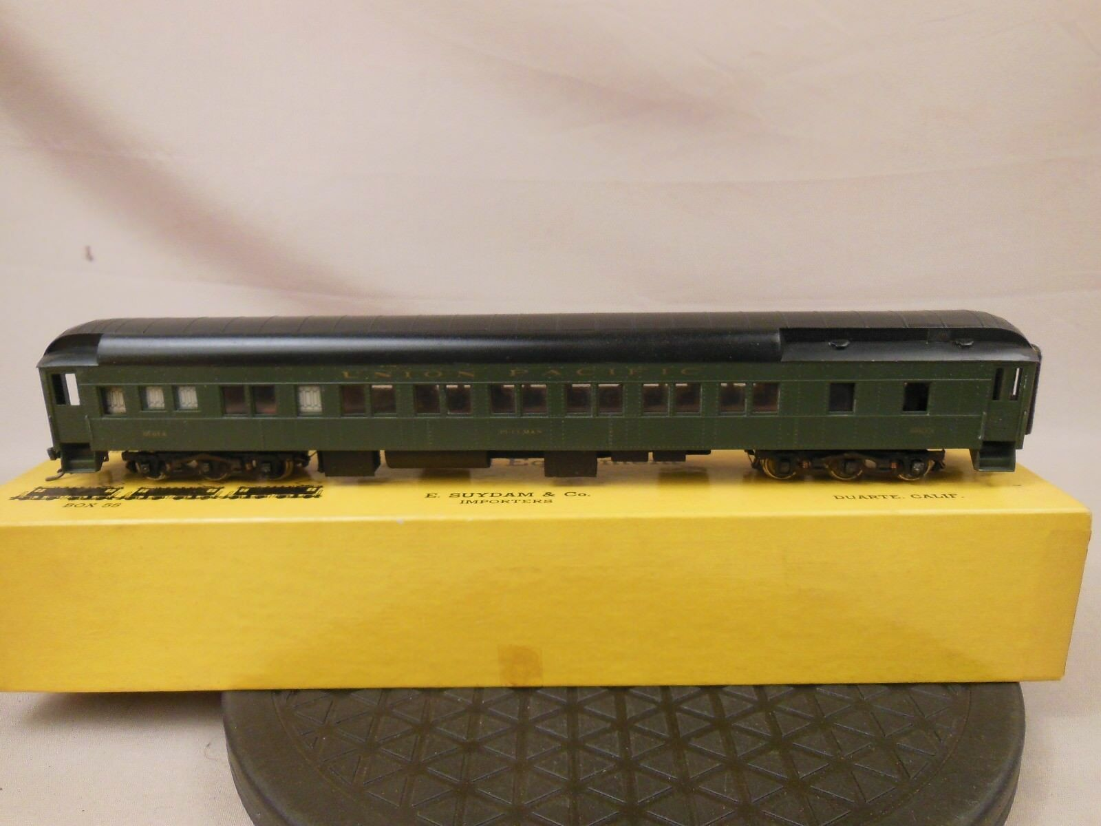HO SCALE BRASS SUYDAM UNION PACIFIC PULLMAN CAR W INTERIOR PAINTED 6