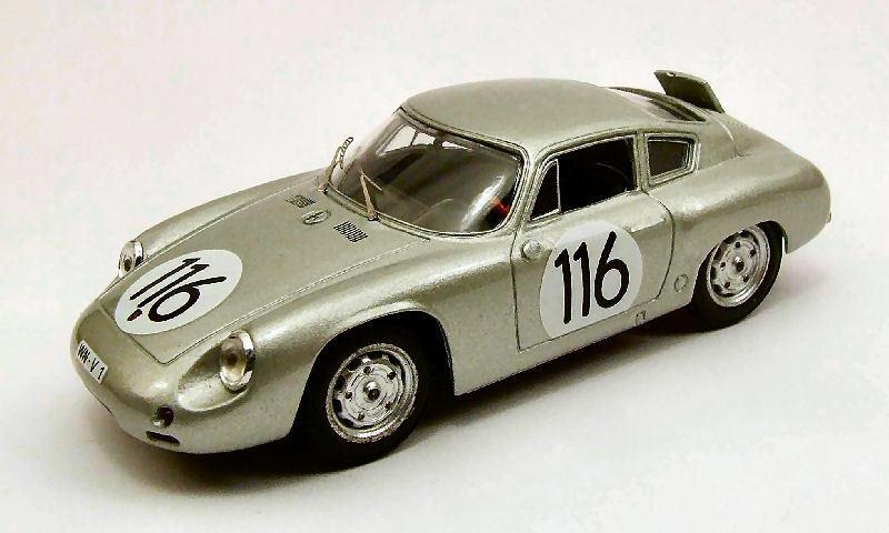 PORSCHE Abarth  116 6th TARGA FLORIO 1960 Linge/radiologica/Lissmann 1:43 Model
