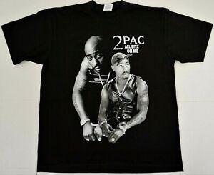 TUPAC-SHAKUR-T-shirt-2Pac-Urban-Streetwear-Hip-Hop-Rap-Tee-Adult-Men-039-s-New