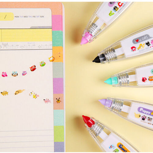 Creative Stationery Push Correction Tape Lace Key Tags Sign School Supplies Best