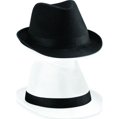 Adult Unisex Men Women Beechfield Fedora Fashion Hat