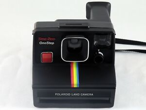 Polaroid Camera Urban Outfitters Uk : Vintage polaroid sx onestep black rainbow stripe land camera