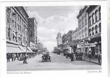 """*Postcard-""""23rd & Market Streets"""" (South from Market St) @ Galveston, TX (A3-16)"""