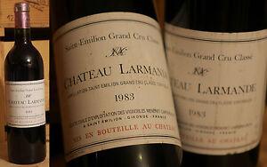 1983er Chateau Larmande-saint émilion Grand Cru-top Millésime!!!-afficher Le Titre D'origine Bonne RéPutation Sur Le Monde