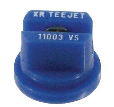 XR11003VS Flachstrahldüse Edelstahl 110° Teejet blau  XR 110-03 VS