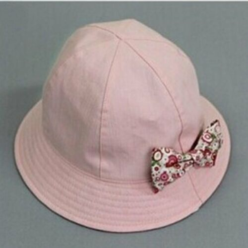 Baby Girls Kids Princess Infant Flower Sun Cap Summer Newborn Cotton Bucket Hat