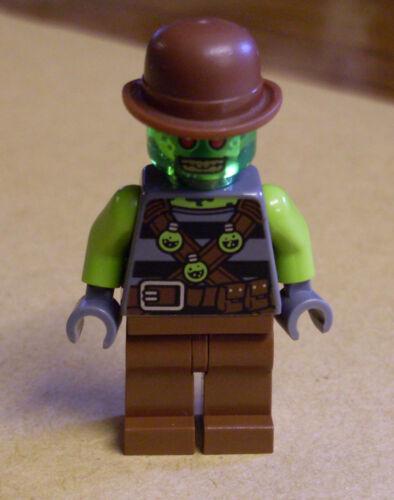 Neu Retocks braun grün Agenten Cowboy Retox Figur Lego Ultra Agents