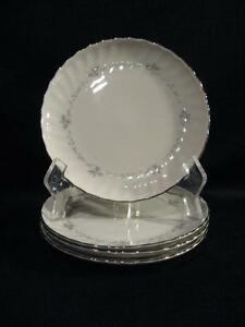 SYRACUSE SILHOUETTE FINE CHINA SWEETHEART BREAD & BUTTER PLATES ...