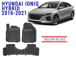 All-Weather-Rubber-Floor-Mats-Set-For-Hyundai-Ioniq-Hybrid-2016-2021-3D-Custom