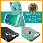 For iPhone 7 Case Patterned Rubber Hard Hybrid Shockproof iPhone 6 7 Plus Cover