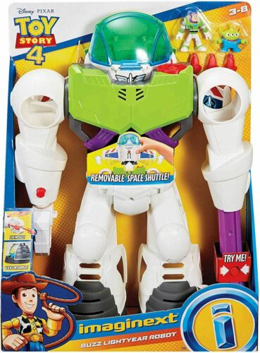 Disney Pixar Toy Story 4 Imaginext Buzz l/'éclair Robot action Toy