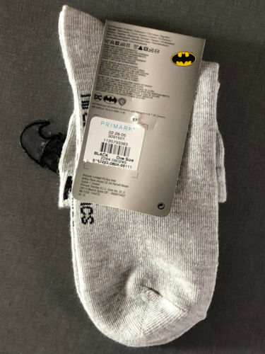 BATMAN Damen Socken 3D Strümpfe Lustig Witzig Glitzer 37-42 Ankle Socks Primark