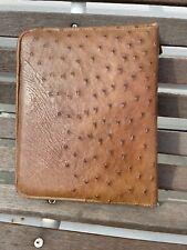 Franklin Planner Classic Binder Ostrich Leather 59