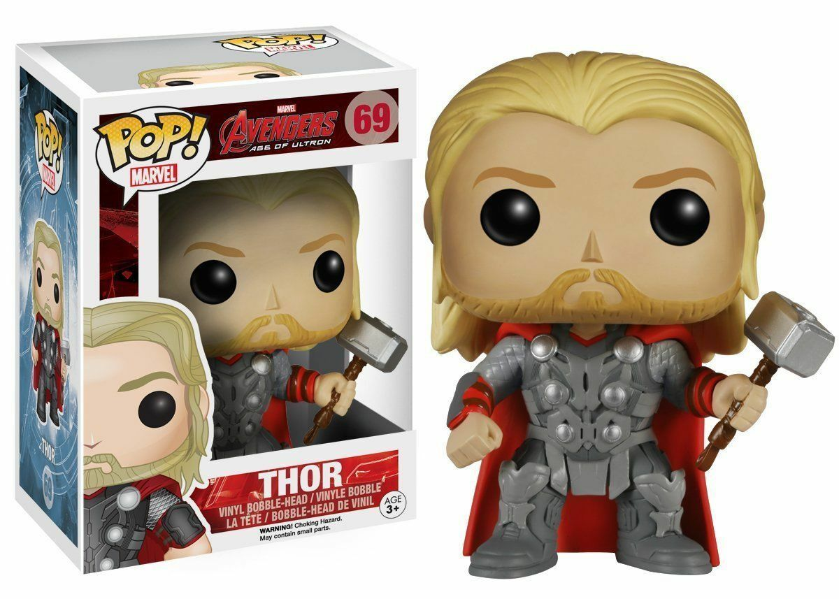 Funko Pop  AVENGERS AGE OF ULTRON 2 - Thor Marvel Bobblehead