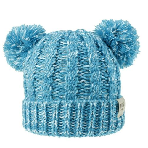 Girls Boys Child Hat Keep Warm Winter Casual Knitted Hat Wool Hairball Ski Hat T