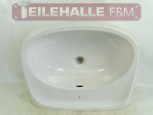 Waschbecken-DDR-Porzellan-Keramik-Haldensleben-28070-Nostalgie-Vintage-weiss