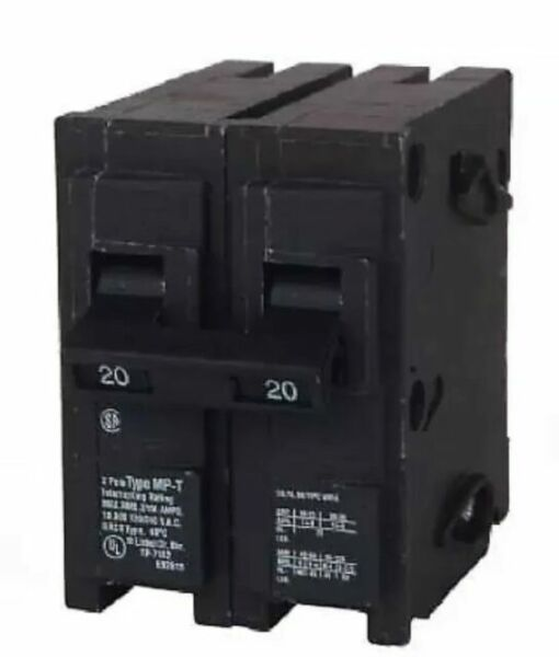 Murray Mp215 Double Pole Circuit Breaker  15 Amp For Sale