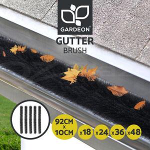 Gardeon Gutter Brush Guard 92X10cm Leaf Twigs Filter Home Garden 18/24/36/48 pcs
