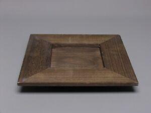 Holztablett-30cm-Kerzentablett-Braun-Tablett-Deko-Tisch-Kerzenteller-Tischdeko