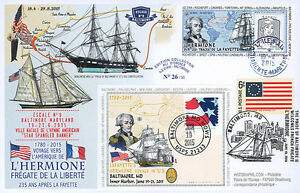 Maxi-FDC-FRANCE-USA-034-Stopover-8-Baltimore-HERMIONE-USS-CONSTELLATION-034-2015