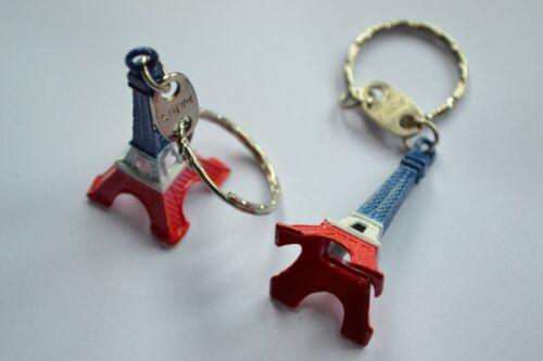 Paris Retro Mini Eiffel Tower Model Cute Keychain Keyring Keyfob Love Gift