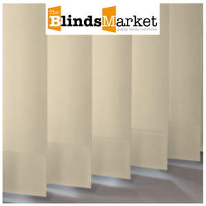 Complete Made To Measure Vertical Blind Palette Beige Dimout