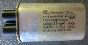 Genuine 0CZZW1H004S Kenmore Microwave Capacitor Drawing Hi