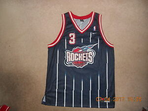 b1cc2451df1 Image is loading Houston-Rockets-Basketball-Jersey-3-Steve-Francis-Rocket-