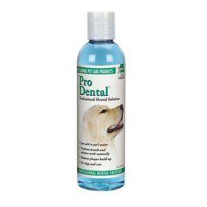 Pro Dental Dog Cat Professional Rinse Fresh Breath 8oz Ebay
