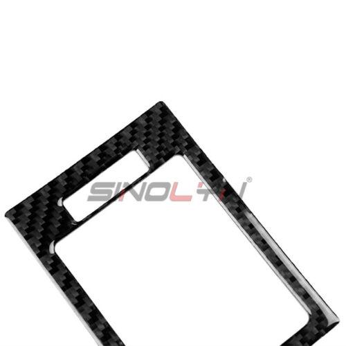 Carbon Fiber Center /& Side Air Vent Cover Trim For Benz C Class W204 2007-2014