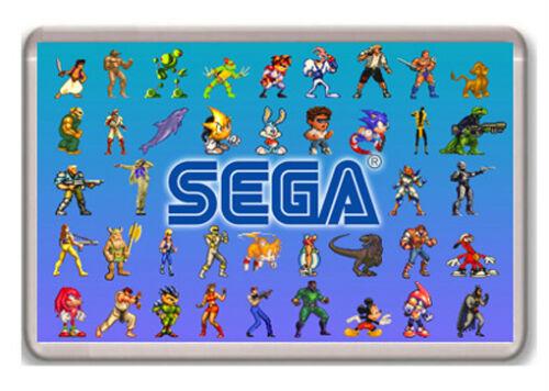Sega Megadrive Genesis Sprites Fridge Magnet Aimant Frigo