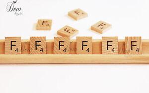 8 x Scrabble Tiles letter V wooden tile Weddings Craft scrap booking