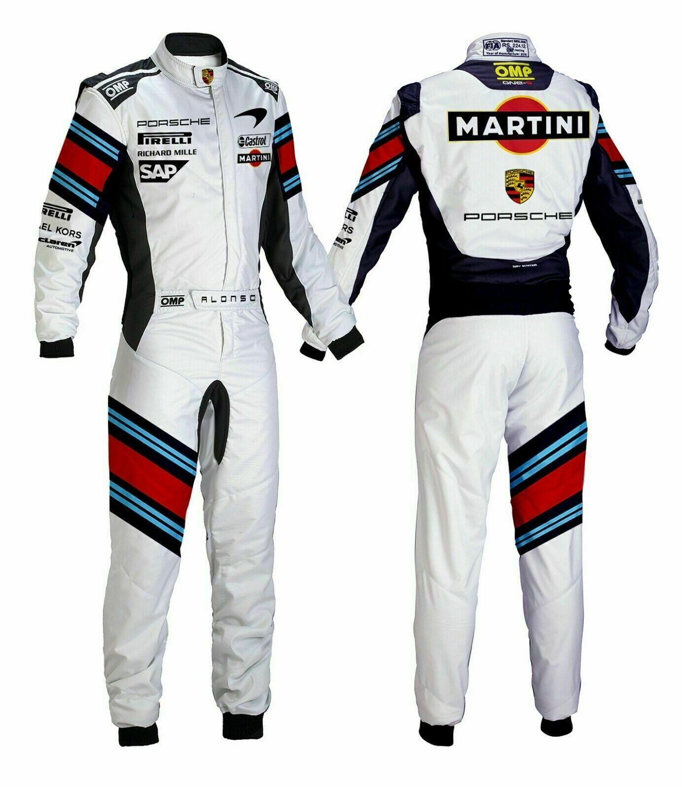 Karting suit Martini Go kart racing suit Level  2 version Kart racing suit  affordable