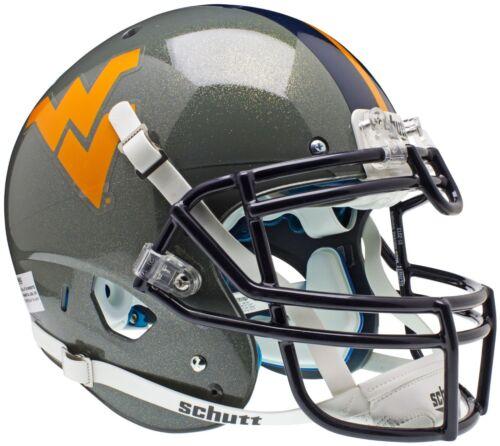 WEST VIRGINIA MOUNTAINEERS NCAA Schutt XP Full Size AUTHENTIC Football Helmet