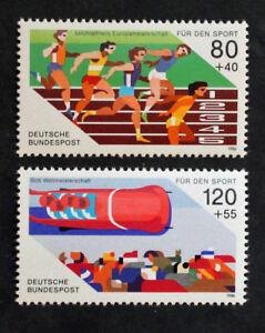 Stamp-Germany-Rfa-Yvert-and-Tellier-N-1101-amp-1102-N-MNH-Cyn30