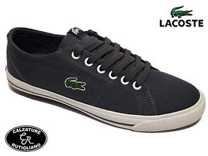 Grigio Jaw Lacoste Marcel Bambino 7 Sneakers Scarpe Bambina Tela w0OF0XU
