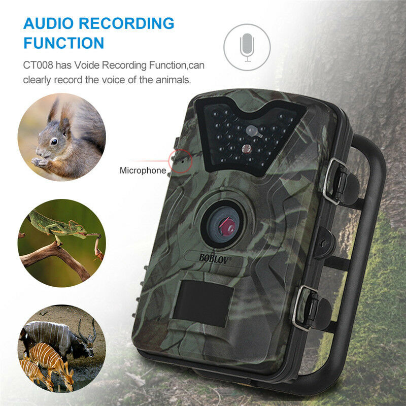12MP 1080P Hunting Camera DVR Trail Game Scouting  Wildlife 24pcs LEDs Infrared  factory direct