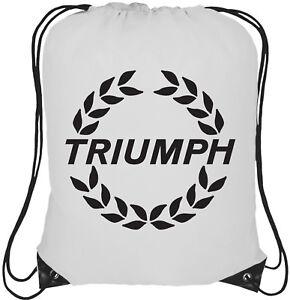 Nissan Logo 13L Drawstring Tote Backpack Rucksack Bag