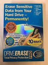 Nova Drive Erase Pro -  For Windows XP *free shipping!