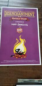 2019-Sdcc-Comic-con-Exclusivo-Disenchantment-Poster-Mate-Groening-de-Simpsons