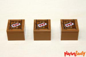 LEGO NINJAGO wie in Set 70617 3 TNT-Kisten aus LEGO®-Teilen