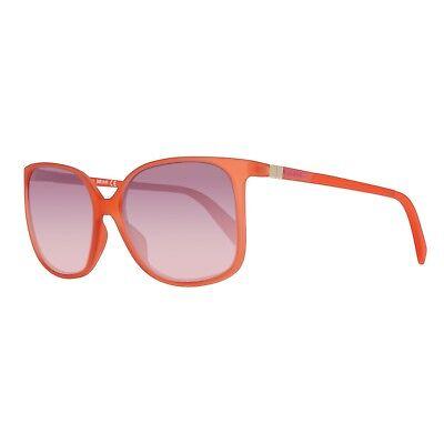 FäHig Just Cavalli Sonnenbrille Damen Rot Elegante Form