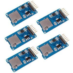 5pc-Micro-SD-Storage-Board-Mciro-SD-TF-Card-Memory-Shield-Module-SPI-for-Arduino